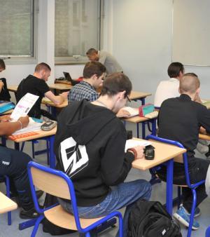 Classe du CFA Delépine en cours