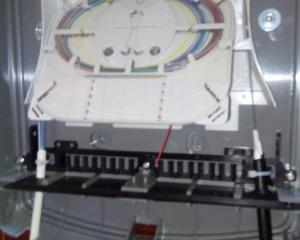 Installation et connexion fibre optique