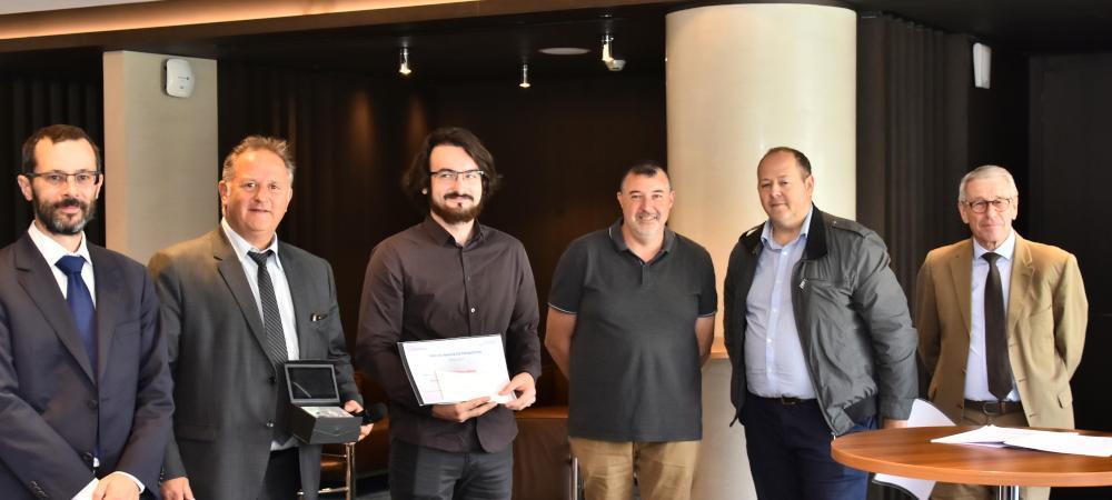 Le major de promotion CFA Delépine 2019 en BTS Electrotechnique